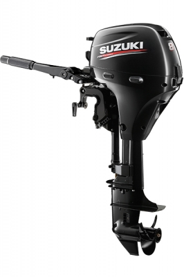 Image of the Suzuki DF8A Outboard