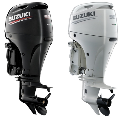 Image of the Suzuki DF90A Outboard